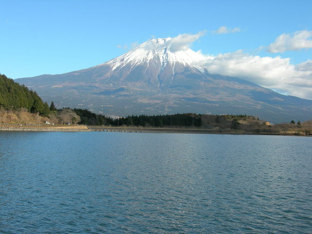 Mt. Fuji and Lake Tanuki-ko