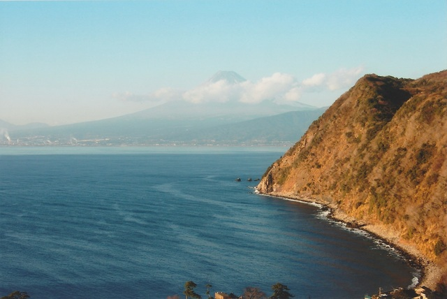 Mt. Fuji from the west of Izu Peninsula