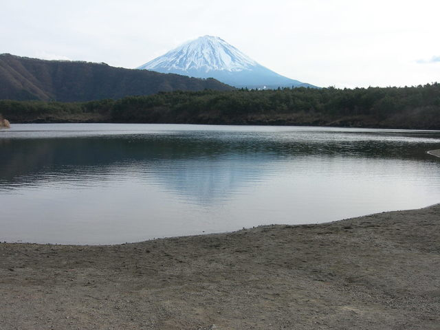 Mt. Fuji and Lake Sai-ko