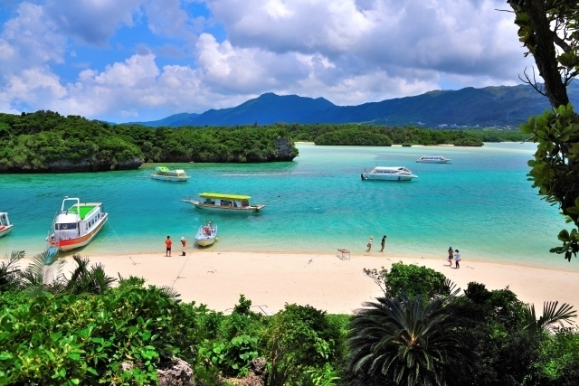 Kabira Bay at Ishigaki Island