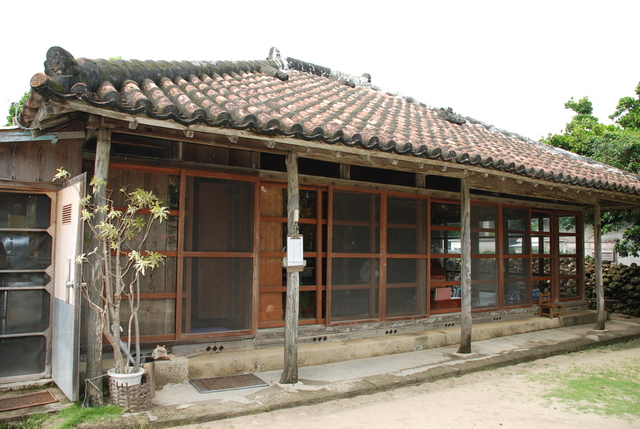 Okinawa's traditional house