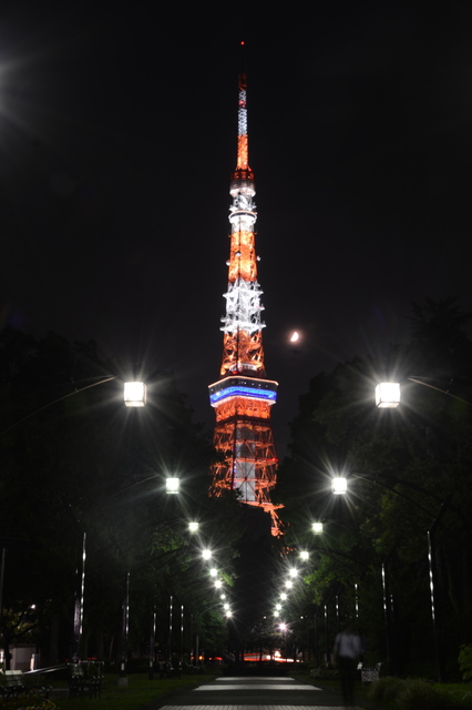 Tokyo Tower(Landmark Light summer version)